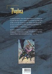 Pandora t.1 ; le regent fou - 4ème de couverture - Format classique