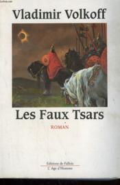 Les faux tsars - Couverture - Format classique