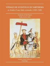 Voyage De Ludovico Di Varthema En Arabie Et Aux Indes Orientales (1503-1508) - Couverture - Format classique