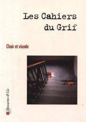 Revue Cahiers Du Grif N1 - Couverture - Format classique