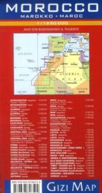 Morokko ; Maroc - 4ème de couverture - Format classique