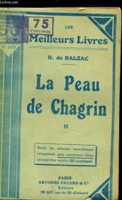 La Peau De Chagrin - Tome 2 - Couverture - Format classique