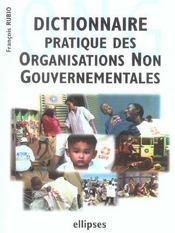 Dictionnaire Pratique Des Organisations Non Gouvernementales - Intérieur - Format classique