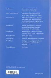 La Connaissance Des Choses Definition Description Classification - 4ème de couverture - Format classique