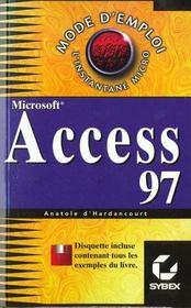 Access 97 - Intérieur - Format classique