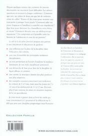 Le Defi De La Discipline Familiale - 4ème de couverture - Format classique