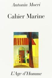 Cahier Marine - Couverture - Format classique