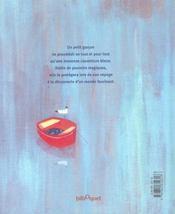 La Couverture Bleue - 4ème de couverture - Format classique