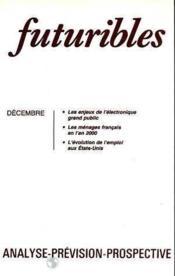 Futuribles N.94 Decembre 1985 - Couverture - Format classique