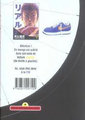 Real t.2 - 4ème de couverture - Format classique