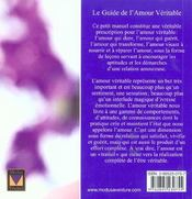 Petit Manuel De L'Amour - 4ème de couverture - Format classique