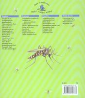 Les moustiques - 4ème de couverture - Format classique