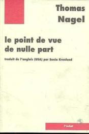 Point De Vue De Nulle Part (Le) - Couverture - Format classique