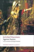 Vente  Against nature  - Joris-Karl Huysmans