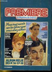 Premiere Album N°19 - 3 Numeros Introuvables - Album Relie Des N°56 - 57 - 58 - Couverture - Format classique