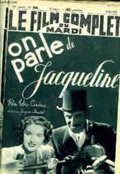 Le Film Complet Du Mardi N° 1988 - 16e Annee - On Parle De Jaqueline - Couverture - Format classique