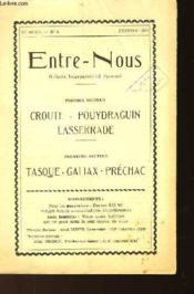 ENTRE-NOUS N°4 - 12ème ANNEE - FEVRIER 1960 - Couverture - Format classique
