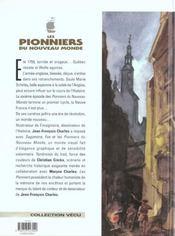 Les pionniers du nouveau monde t.6 ; la mort du loup - 4ème de couverture - Format classique
