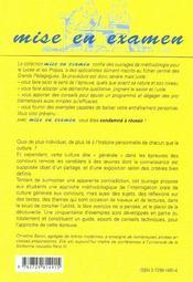 L'Oral De Culture Generale Aux Concours Des Ecoles De Commerce - 4ème de couverture - Format classique