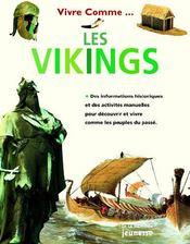 Vivre comme...les vikings - Couverture - Format classique