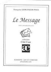 Le message - Intérieur - Format classique
