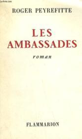 Les Ambassades. - Couverture - Format classique