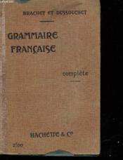 Grammaire Francaise Complete - Couverture - Format classique
