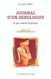 Vente livre :  Journal d'un sexologue  - Alain Heril