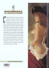 Les pionniers du nouveau monde t.8 ; petit homme - 4ème de couverture - Format classique