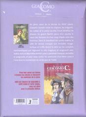 Giacomo C. t.7 ; Angelina - 4ème de couverture - Format classique