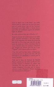 L'Egaree - 4ème de couverture - Format classique