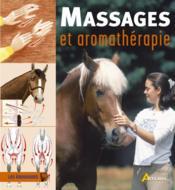 Massages et arromathérapie - Couverture - Format classique