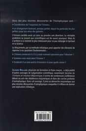 La Maconnerie Peut-Elle Donner Un Sens A L'Univers ? - 4ème de couverture - Format classique