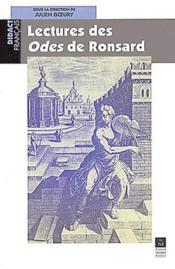 Lectures des odes de Ronsard - Couverture - Format classique