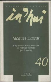 Poesie francaise ; progressive transformation du paysage francais par la poesie - Couverture - Format classique