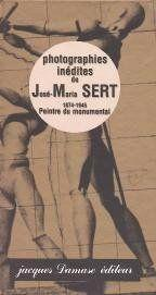 L'ART DE LA FRESQUE DE JOSE SERT. Photographies, Parade - Couverture - Format classique