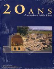 20 Ans De Recherches A Salleles D'Aude - Couverture - Format classique