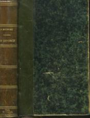 Un Divorce - Couverture - Format classique