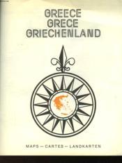 Greece -Greve - Griechenland - Couverture - Format classique