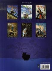 Poffy et les Pirates - L'île aux chimères - 4ème de couverture - Format classique