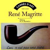 Rene Magritte - Couverture - Format classique
