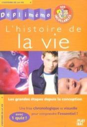 Histoire de la vie - Couverture - Format classique