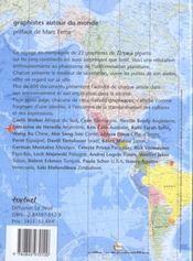 Graphistes Autour Du Monde. Exposition, Echirolles, 18 Novembre-9 Décembre 2000 - 4ème de couverture - Format classique