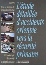 Etudes detaillees d'accidents - Couverture - Format classique