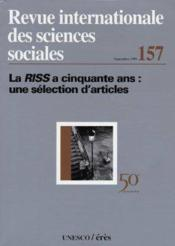 La Riss A 50 Ans - Couverture - Format classique