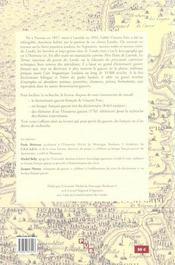 Dictionnaire gascon-francais (Landes) ; lexique francais-gascon et d'éléments d'un thésaurus gascon - 4ème de couverture - Format classique