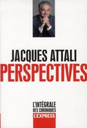 Perspectives t.1 ; l'intégrale des chroniques - Couverture - Format classique
