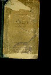 Fables Precedes D'Une Notice Biographique Et Litteraire Et Accompagnees De Notes Grammaticales Et D'Un Lexique. - Couverture - Format classique