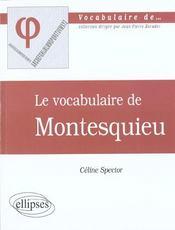 Montesquieu - Intérieur - Format classique