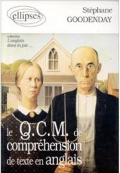 Le qcm de comprehension de texte en anglais l'anglais dans la joie... - Couverture - Format classique